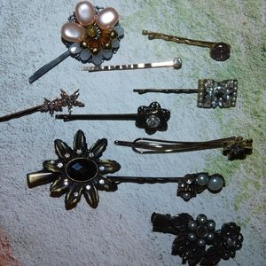 Anthropologie Bobby Pin Set